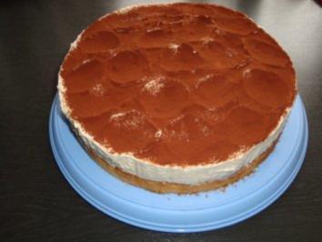 Amaretto-Frischkäse-Torte - Rezept