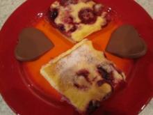 Beerenkuchen mit Schmandcreme - Rezept