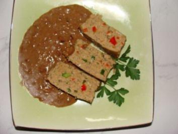 Fleisch : -Pikanter Hackfleisch-Kartoffelkuchen- - Rezept