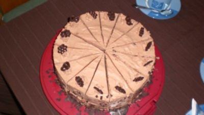 Schoko Sahne Torte - Rezept