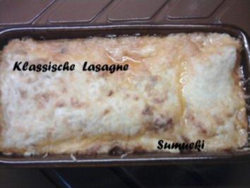 Klassische Lasagne - Rezept