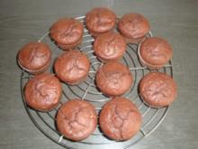 Schokoladenmuffins mit Bananen - Rezept