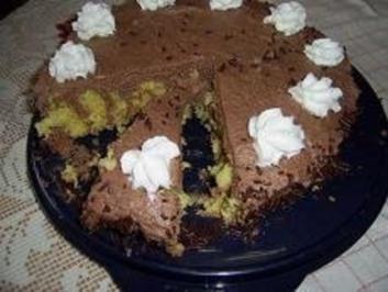 Schokoladen-Wickeltorte - Rezept