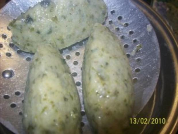 Kartoffelklöße aus rest von Grünkohl Püree - Rezept - Bild Nr. 7