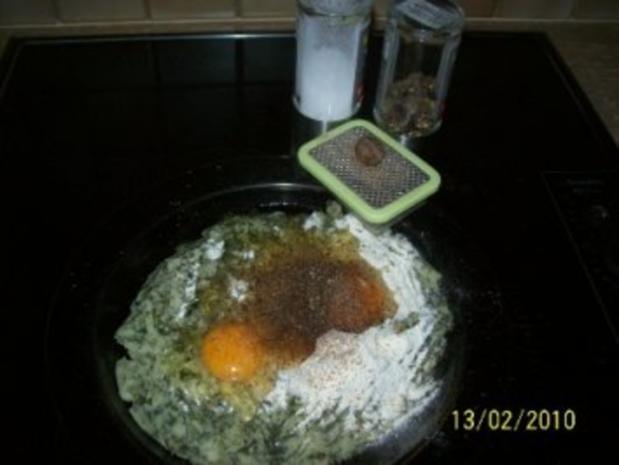 Kartoffelklöße aus rest von Grünkohl Püree - Rezept - Bild Nr. 2