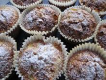 Apfel-Vollkorn-Muffins - Rezept
