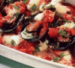 Rezept: antipasti miesmuscheln mit mozzarella