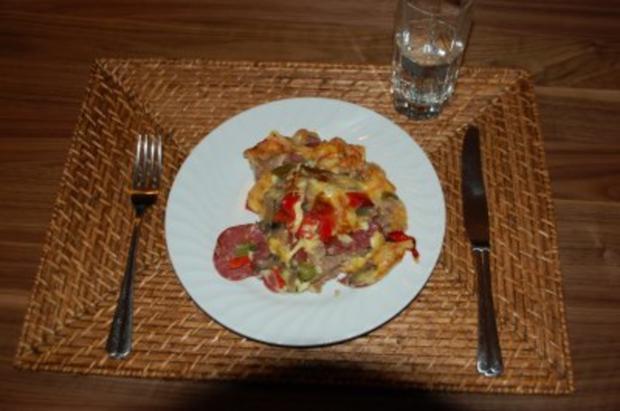 Hackfleischpizza - Rezept - Bild Nr. 3