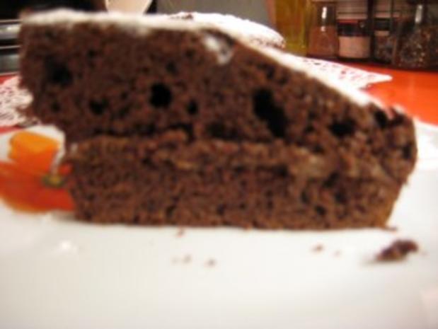 gefüllter Schokoladenkuchen für 20er Springform - Rezept - Bild Nr. 10