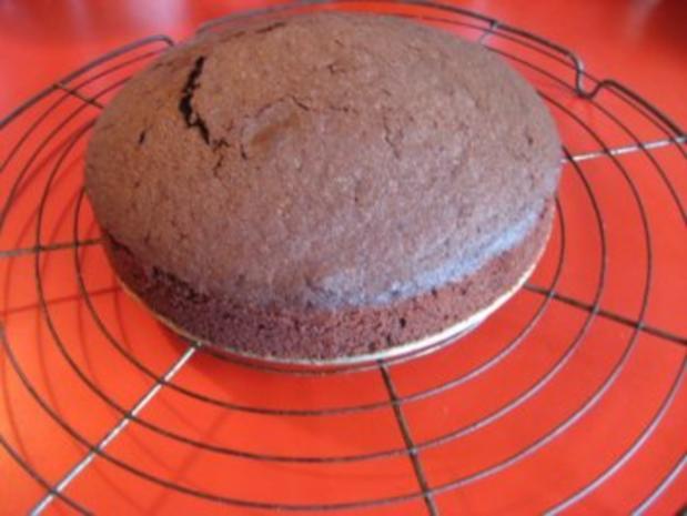 gefüllter Schokoladenkuchen für 20er Springform - Rezept - Bild Nr. 6