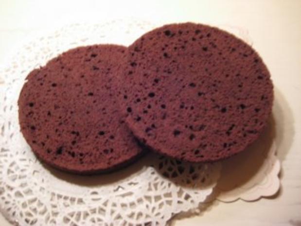 gefüllter Schokoladenkuchen für 20er Springform - Rezept - Bild Nr. 7