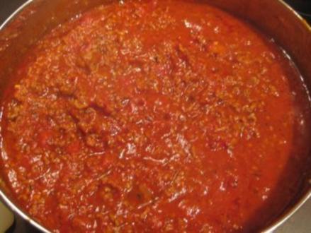 Fleisch - Bolognese-Sauce - Rezept