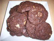 Double Chocolate Chip Cookies - Rezept
