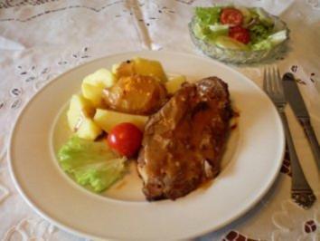 Scharfer Schweinenacken - Rezept