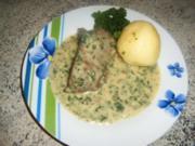 Petersiliensoße mit gekochten Rindfleisch - Rezept
