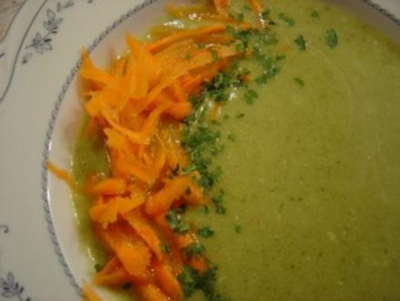 Broccolie-Creme-Suppe - Rezept
