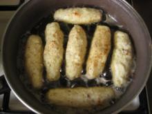 Kartoffeln - röllchen mit Speck und Sauerkraut. - Rezept