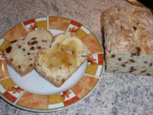 Brot: Rosinen-Mandelbrot - Rezept
