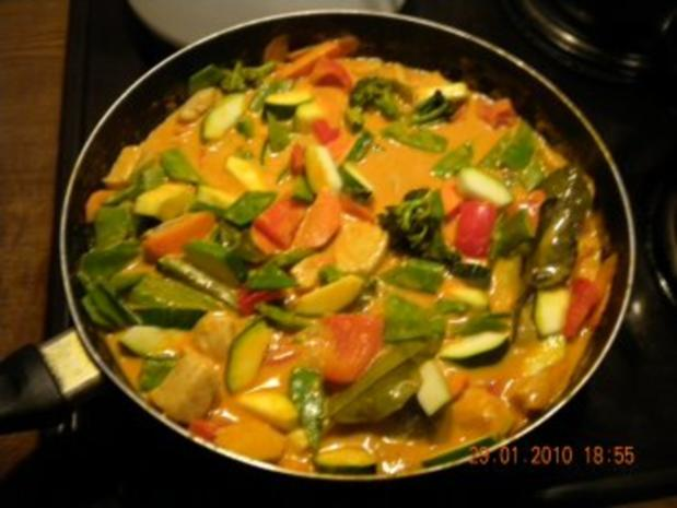 Hühnchen Curry - Rezept - Bild Nr. 3