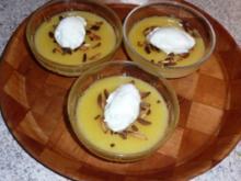 Dessert: Apfel-Grießflammeri - Rezept