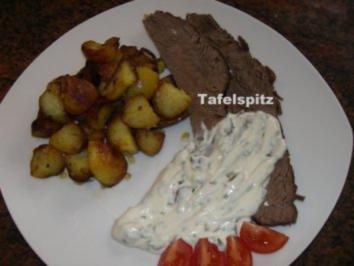 Rezept: Fleisch:    TAFELSPITZ, gekocht