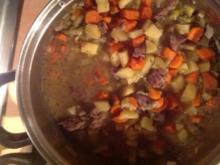 Rindfleisch -Gemüse-.Eintopf - Rezept