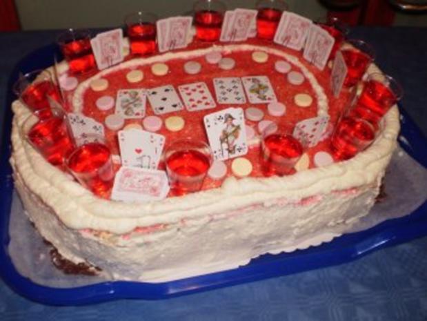 Pokertorte - Rezept