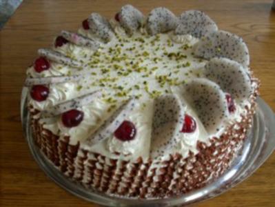 Pitahaya-Torte - Rezept