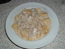 Hähnchenbrustfilets in Gorgonzola Sauce - Rezept