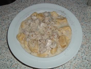 Rezept: Hähnchenbrustfilets in Gorgonzola Sauce