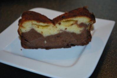 Käse-Marmor-Kuchen - Rezept