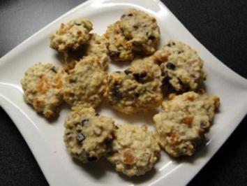 Aprikosen - Hafer - Kekse - Rezept