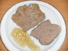 Wursten: Bayerischer Leberkäs - Variante 1 - Rezept