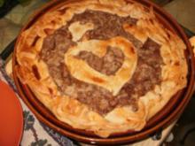 Pie- Birnen Pie von Louisiana - Echt Amerikanisch mit Birnen und Gewuerzen in einer Piekruste - Rezept
