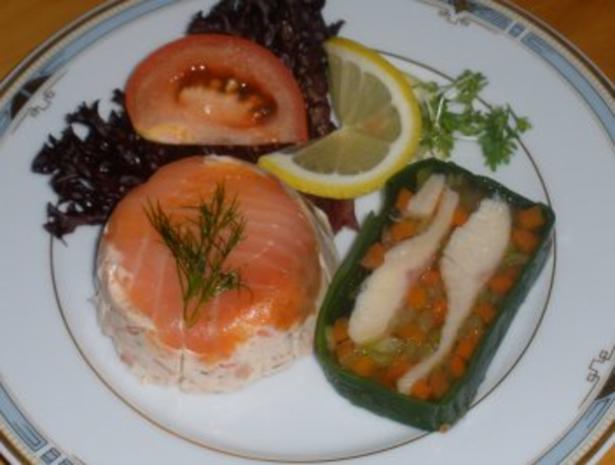 Fisch - Räucherforellenterrine - Rezept