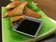 Wan-Tan mit Schweinefleisch und Sojasoße - Rezept