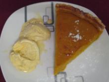 Pumkin-Pie mit Vanilleeis - Rezept