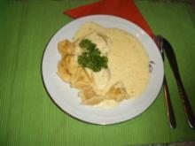 Tortellini mit Zitronensoße - Rezept