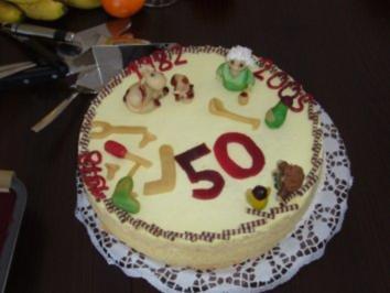 Frischkäse - Zitronen - Torte,  meine Geburtstagstorte - Rezept