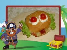 Smiley Burger - Rezept