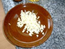 Nudeln: Knoblauch - Sahne Nudeln mit Schinken - Rezept