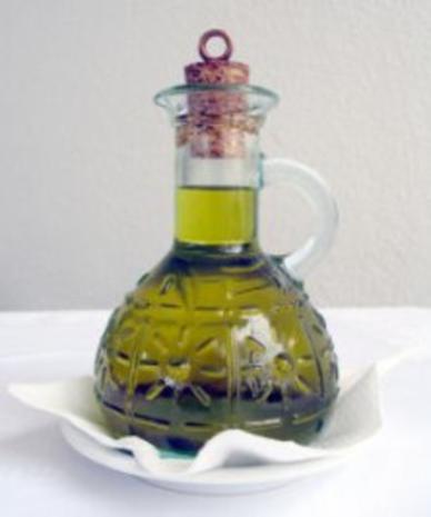 Basilikum-Rosmarin-Öl - Rezept