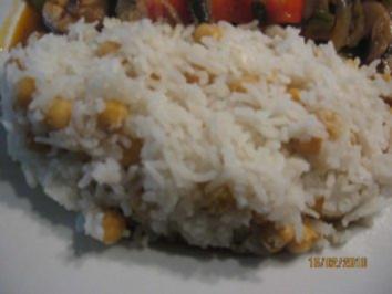Kichererbsen-Pilaw (Reis verfeinert mit Kichererbsen, Türkischer Reis) - Rezept