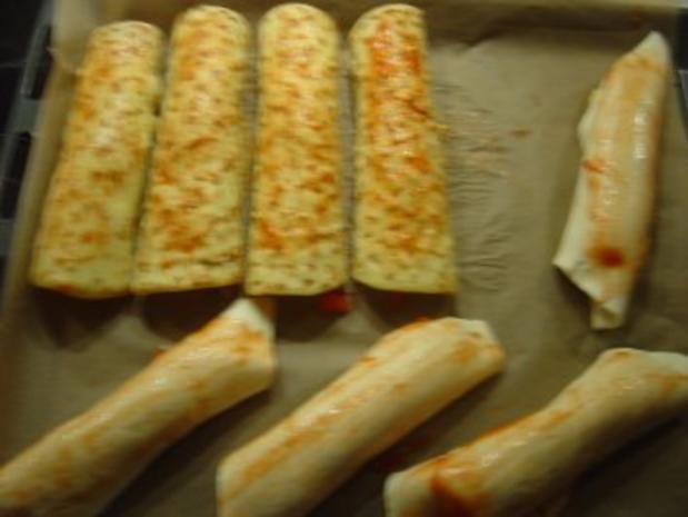 Käse-Schinken-Rollen - Rezept - Bild Nr. 6