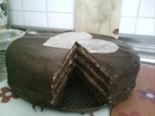Buttercreme- Schokoladentorte - Rezept