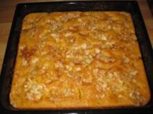 Mandarinen-Schmand-Blechkuchen - Rezept