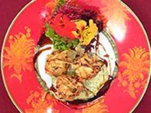 Croustillons von Mittelmeerfischen an Koriandersoße nach Marco Polo - Rezept