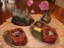 Brombeeren - Oregon  heisse Brombeeren und Apfel Souffle -  Fruechte Dessert - lecker und leicht - Rezept