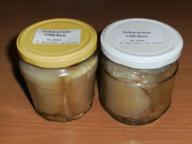 Wursten: Schwartenröllchen mit Schweinemett - Rezept