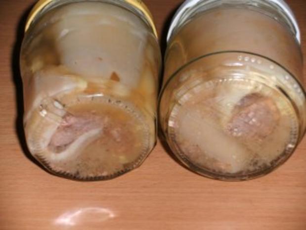 Wursten: Schwartenröllchen mit Schweinemett - Rezept - Bild Nr. 2